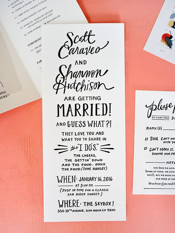 Casual Wedding Invitation Wording.10 Wedding Invitation Wording Examples You Can Use Right Now