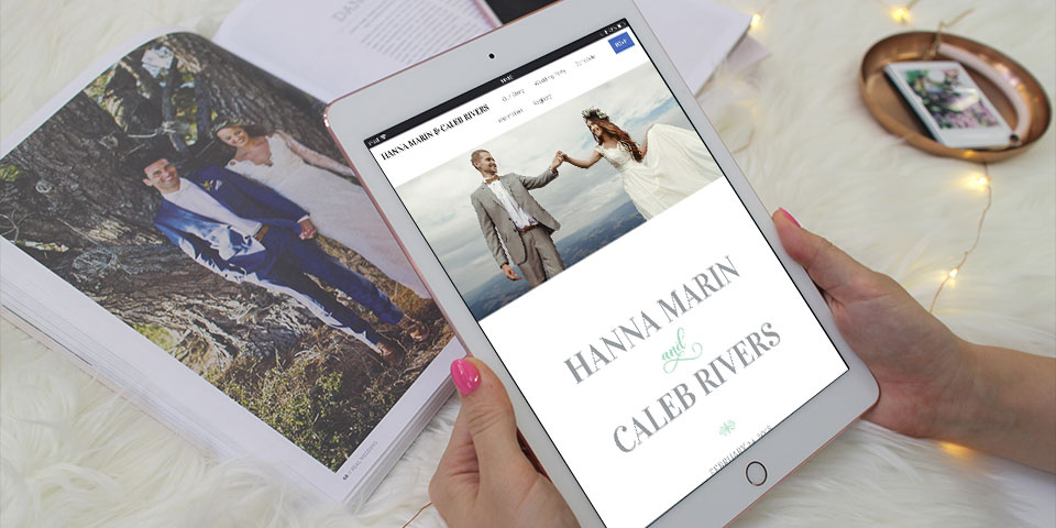 8 Creative Ideas To Help Personalise Your Wedding Website