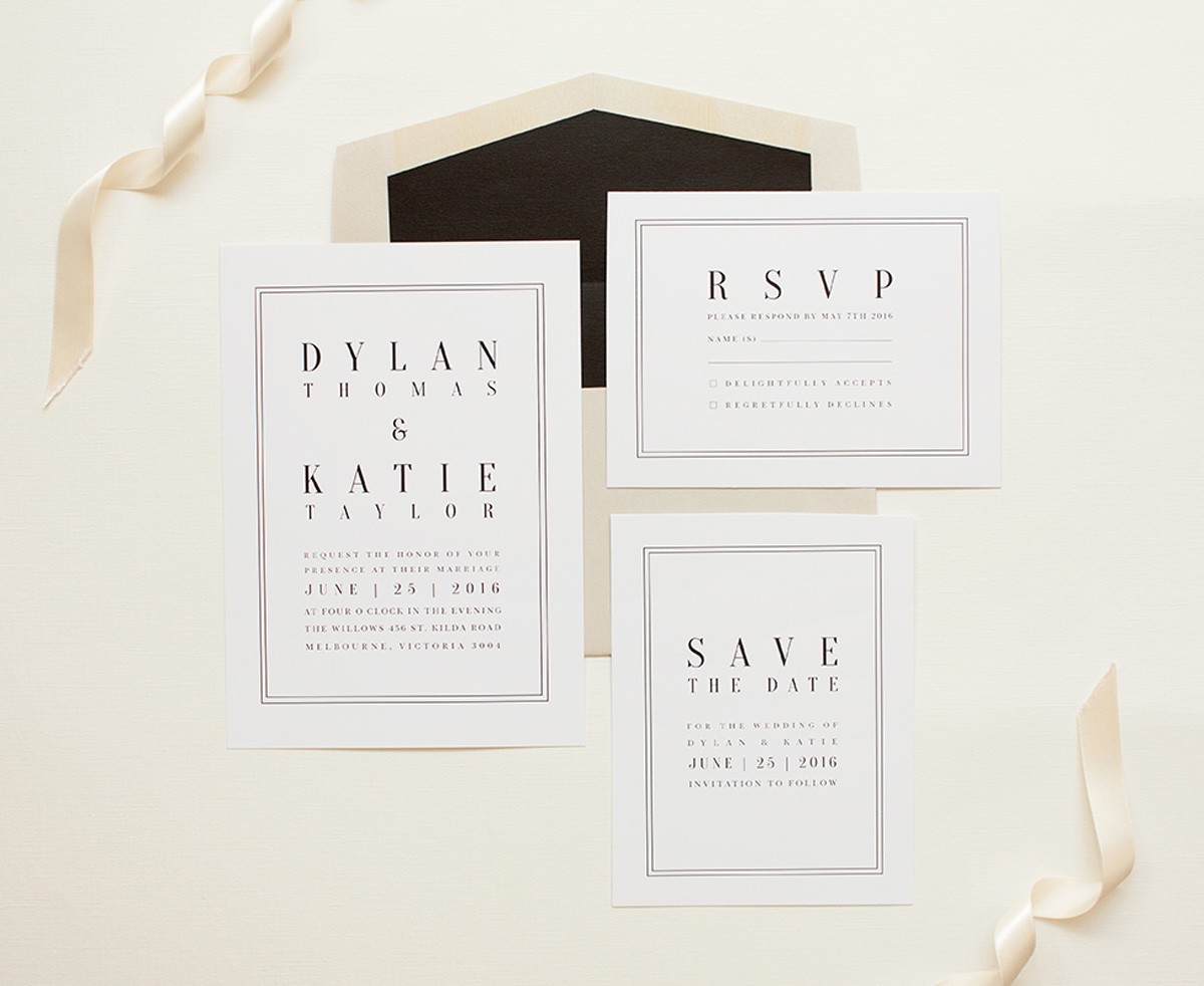 Wedding Invitation Etiquette 101 ♥ WEDSITES Blog